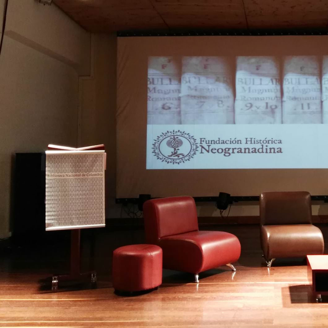 Neogranadina took part in the Fourth Week of the Book and Digital Reading